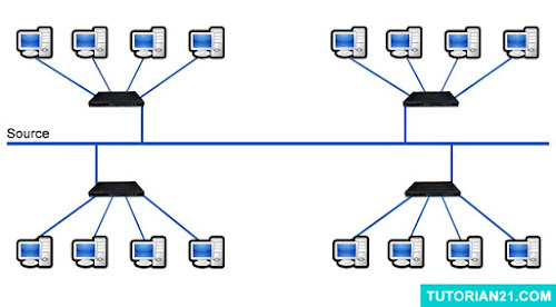 Jaringan Topologi Tree