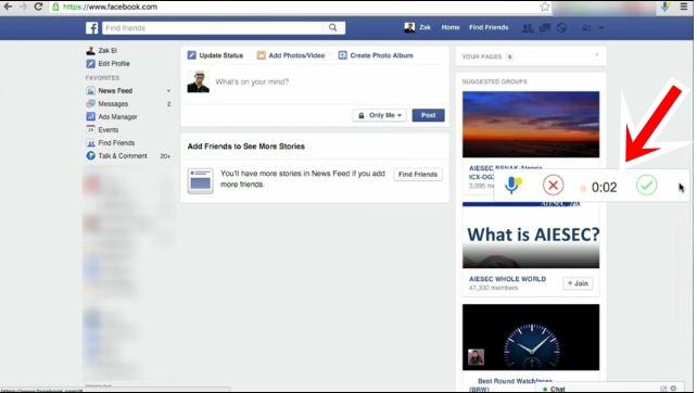 طريقة اظافة زر لتسجيل مقطع صوتي خاص بك ونشره على الفيس بوك