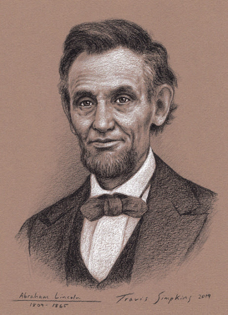 Abraham Lincoln. 16th President of the United States. The Civil War. by Travis Simpkins