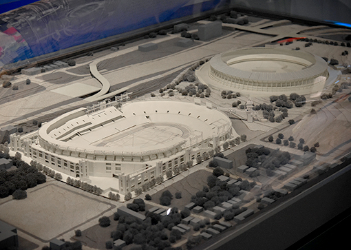 Olympic Stadium model | Atlanta History Center | Photo: Travis Swann Taylor