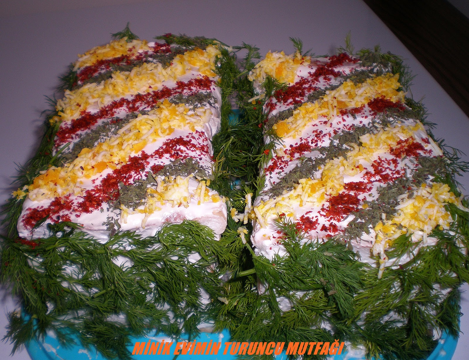Havuçlu Tost Ekmeği Salatası