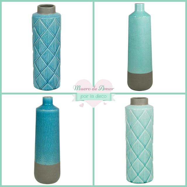 Jarrones Azules para Decorar tu Casa-Actúa Decor- By Ana Oval-4