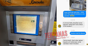 Thumbnail image for Mesin ATM Maybank Guna Windows Pirate, Respon Dari Maybank Amat Mendukacitakan