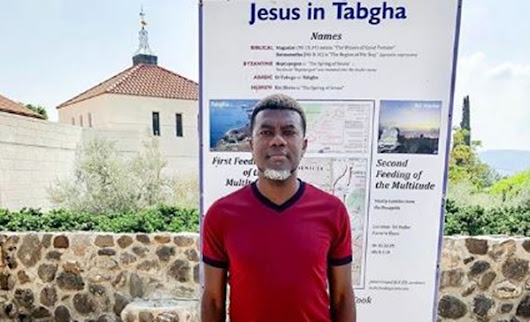 Reno Omokri visits River Jordan, shares photo of Joseph's home