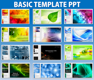 Basic Template PowerPoint