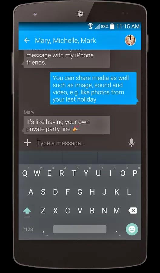 Textra SMS PRO v3.8