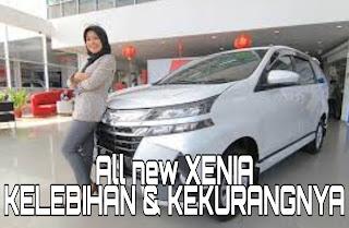 Kelebihan dan Kekurangan Daihatsu All New Xenia 1000 CC tipe D dan M
