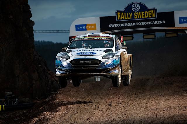 Teemu Sunninen WRC Rally Driver Airbourne jump