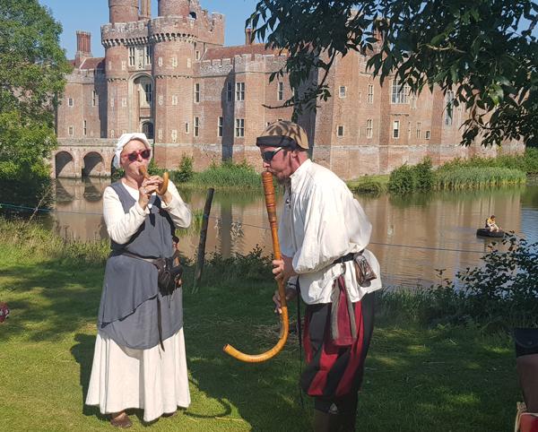 Herstmonceux Castle England's Medieval Festival
