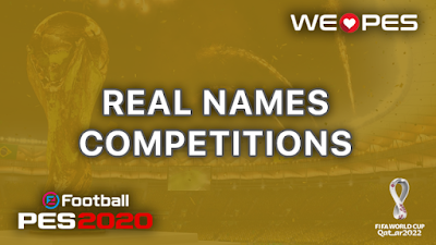 Real Names | Competitions | PES 2020