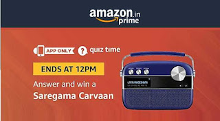 All Answers of Amazon Saregama Carvaan Quiz Time