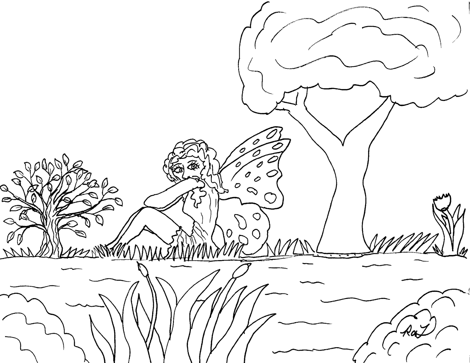 Robin\'s Great Coloring Pages: Butterfly Fairies