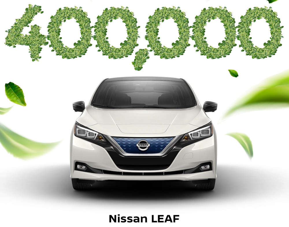 Nissan Leaf becomes first EV to surpass 400,000 sales