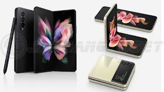 HP Lipat Android Samsung Z Flip3 dan Fold3