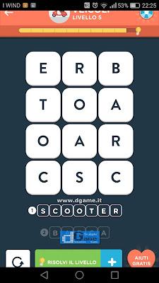 WordBrain 2 soluzioni: Categoria Veicoli (3X4) Livello 5