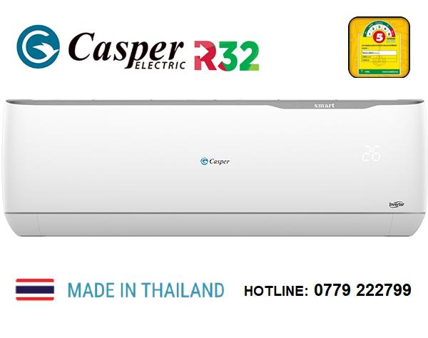 Điều hòa Casper 18000 BTU inverter 1 Chiều GC-18TL32 - Tiết kiệm điện 85% |  CASPER GC18TL32