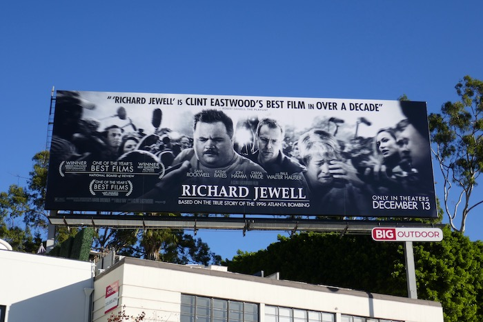 Richard Jewell movie FYC billboard