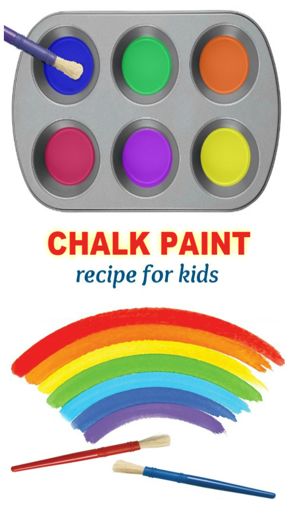 Paint the town this summer with fizzing sidewalk paint!  This easy recipe will keep the kids playing for hours! ##chalkpaintrecipe #sidewalkchalkart #sidewalkchalk #sidewalkchalkideas #chalkart #chalkpaint #chalkrecipe #chalkrecipesforkids #growingajeweledrose