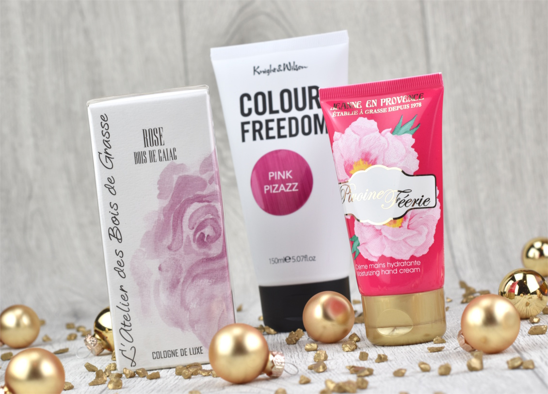 Nikolaus Gewinnspiel - Pretty in Pink Beautypaket mit L'Atelier des Bois de Grasse, Colour Freedom und Jeanne en Provence