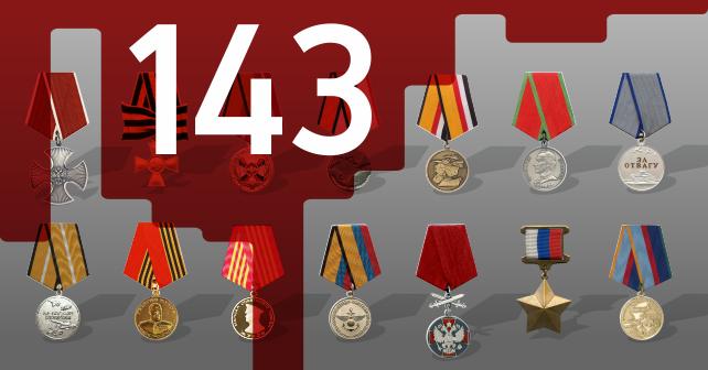 Нагородне тавро воєнних злочинців ЗС РФ