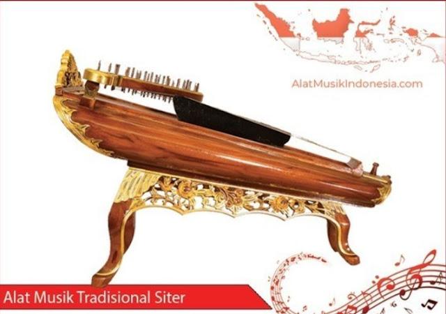 siter- Alat Musik Petik Tradisional Khas Indonesia
