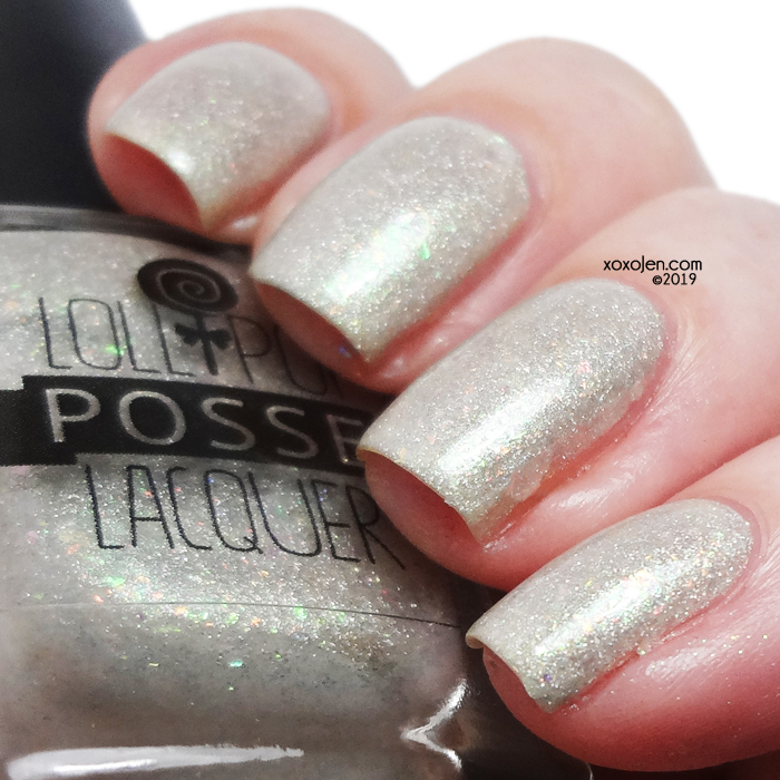 xoxoJen's swatch of Lollipop Posse Lacquer This Sudden, Curious Act of Extortion