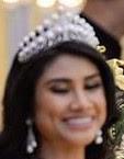 pearl tiara johor malaysia queen permaisuri raja zarith sofiah crown princess che puan khaleeda