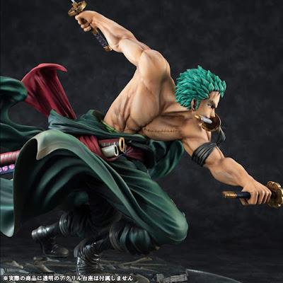 """Figuras: Imágenes y detalles de Zoro Roronoa de """"One Piece"""" - Megahouse"""