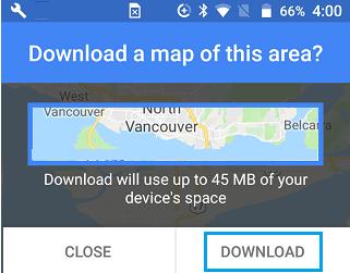 Cara Menggunakan Google Maps Secara Offline di Ponsel Android 5