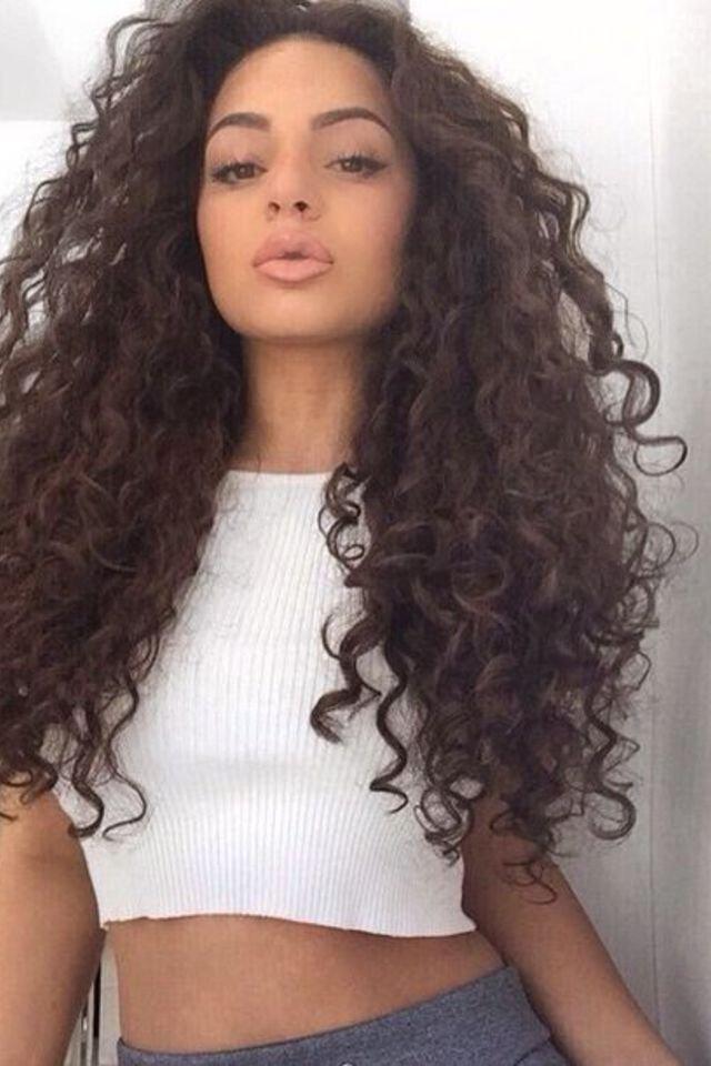 Attractive curls