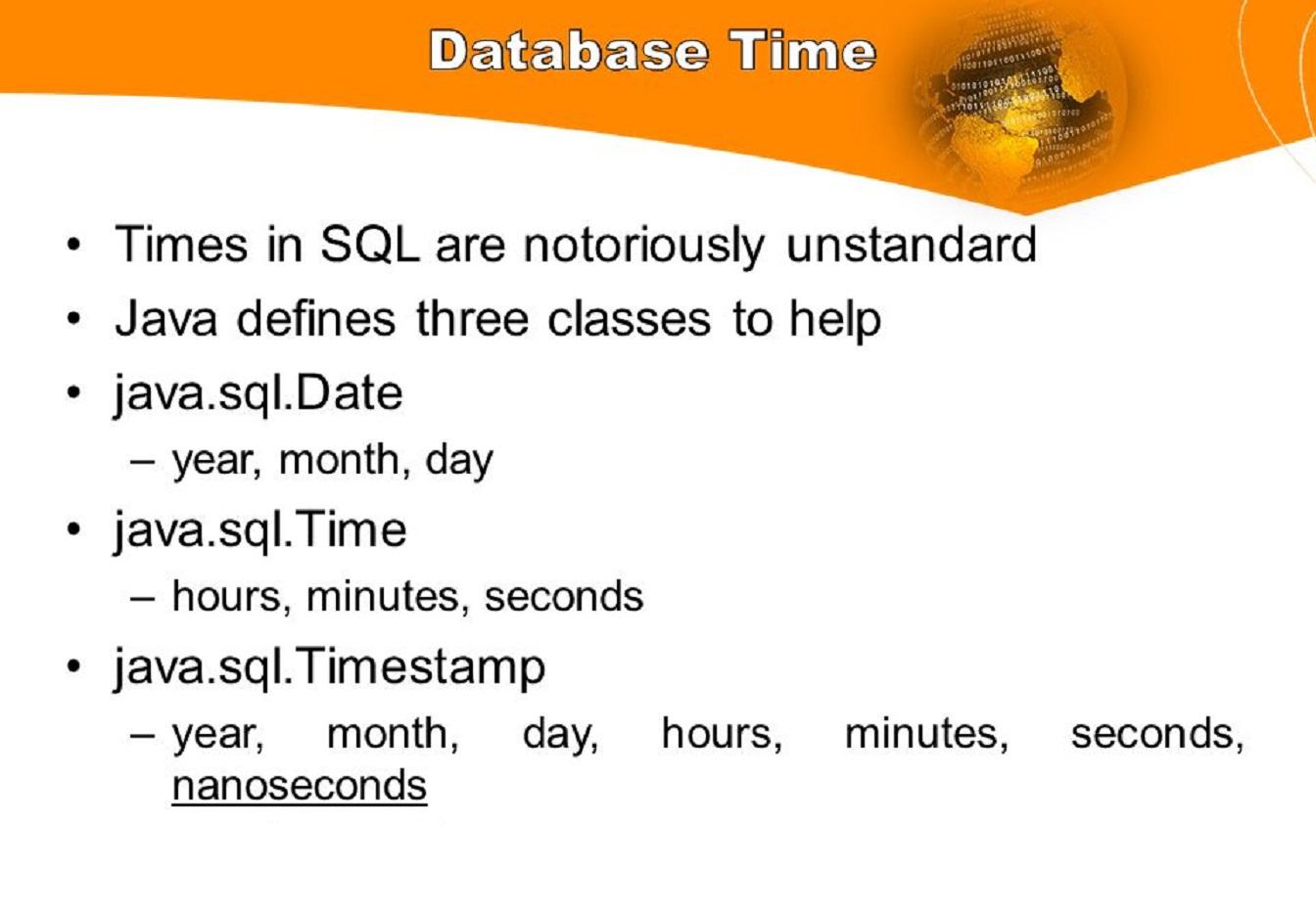 Java calendar settime(date date) method example.