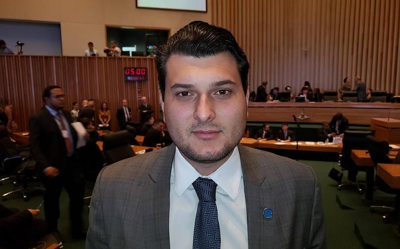 Deputado distrital Eduardo Pedrosa (PTC). Foto: Delmo Menezes / Agenda Capital