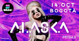 FIESTA Aniversario Oh my Drag! con ALASKA en Bogotá