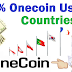 100% Onecoin Use Countries.
