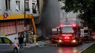 إسطنبول.. مصرع شخص إثر انفجار بورشة نسيج (فيديو)