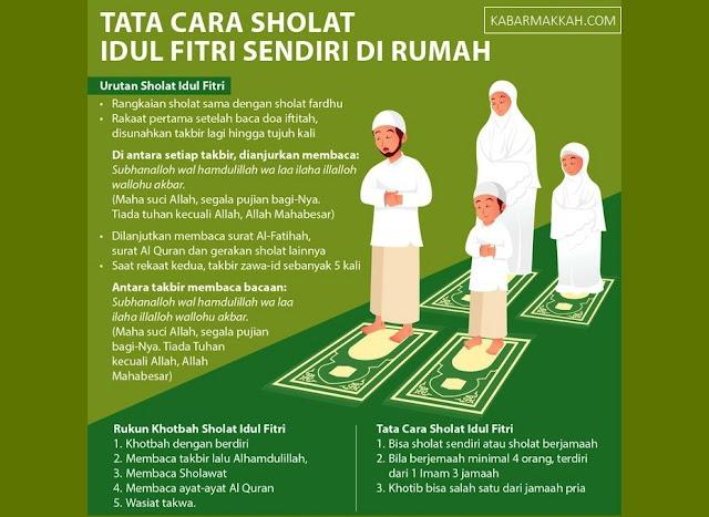 MUI Terbitkan Aturan Sholat Idul Fitri di Rumah, Begini Tata Caranya