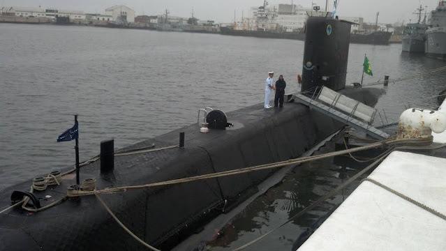 El submarino tipo 209  S30 Tupí para la Armada Argentina