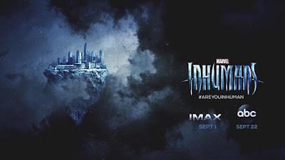 """Nuevo póster de """"Marvel's Inhumans"""" con la ciudad de Atilán."""
