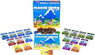 Ciudad Machi Koro quinta edición el juego de tablero