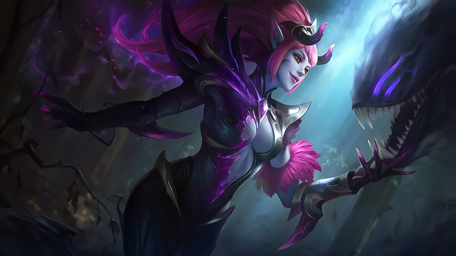 Wallpaper Selena Abyssal Witch Skin Mobile Legends HD for PC