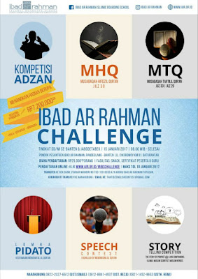 Ibad Ar Rahman Challenge Tahfizh and English Contest Se-Banten