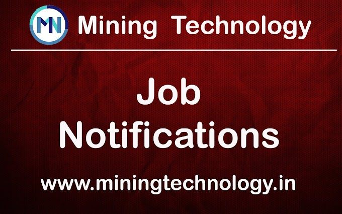 Opening of:Mines Manager for Stone Masonry Mines in Rajasthan (Jaipur) (50 Posts in different Mines/Quarry)