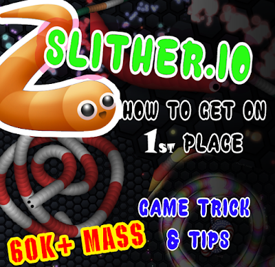 Slither.io How to get 1st place Leaderboard