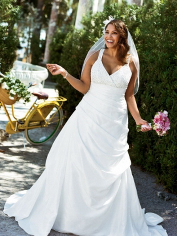 bridesmaid dresses: 2011 Davids Bridal Plus Size Wedding ...