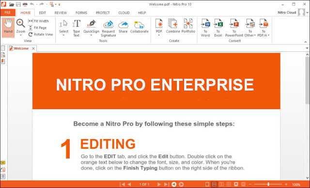 Nitro Enterprise key 1 -