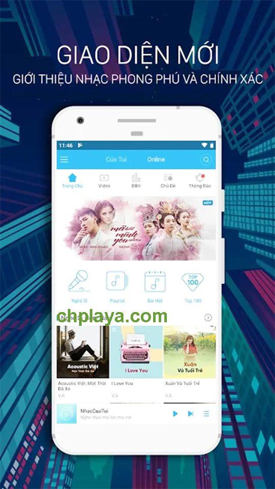 Tải Nhaccuatui về điện thoại Android - Nghe, tải MP3 miễn phí e