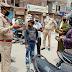 लाकडाउन का उल्लंघन करने पर कई वाहन चालकों पर हुयी कार्रवाई
