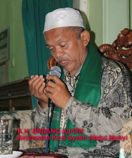 KH Endang Ajidin Keturunan Syekh Abdul Muhyi