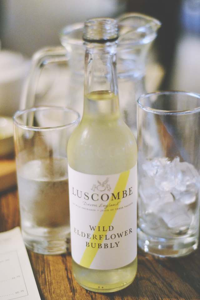 Luscombe Wild Elderflower Bubbly bottle