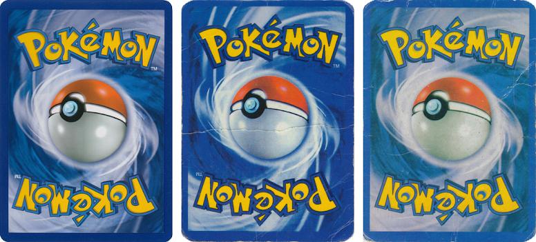 Pokémon TCG - Verso de Cartas Falsas